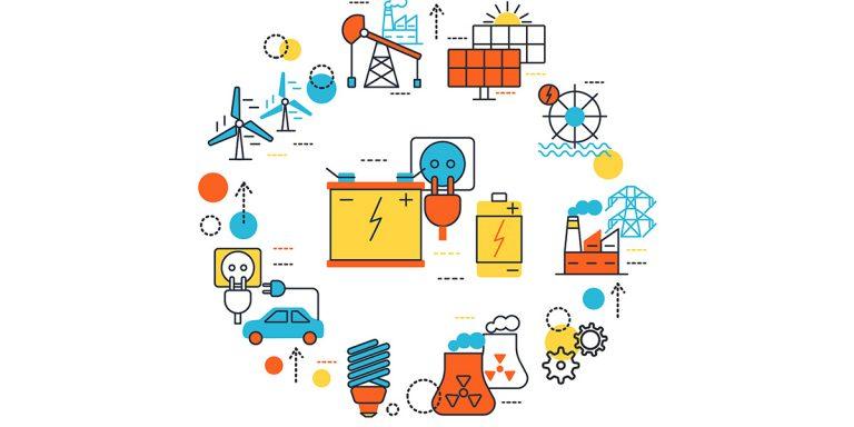 ترکیب سبد انرژی پیش بینی شده در جهان، از سال 2018 تا 2040